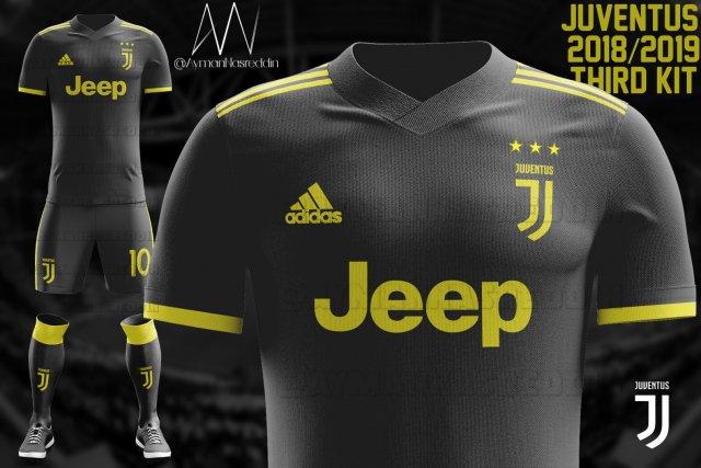 Terza Maglia Juventus modello